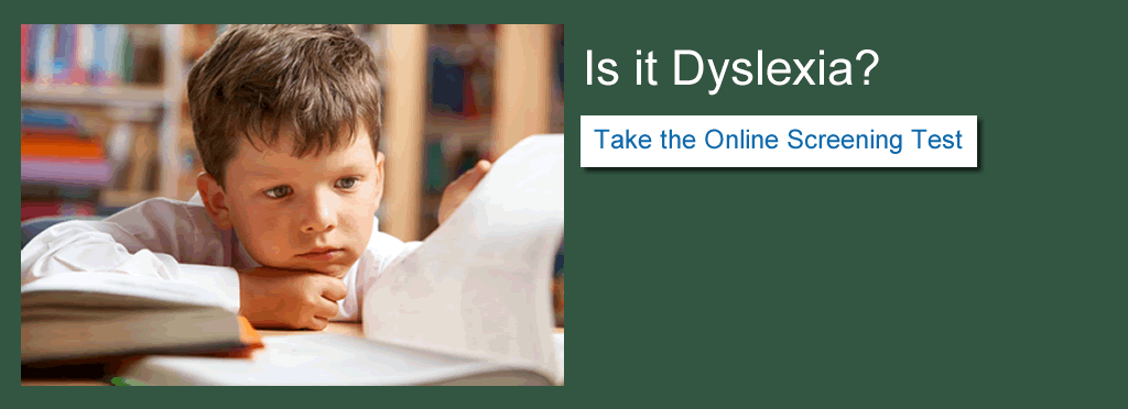 Is it dyslexia? Take the online screening test